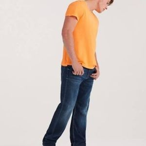 {7 for all Mankind} Men's luxe relaxed denim,33/26